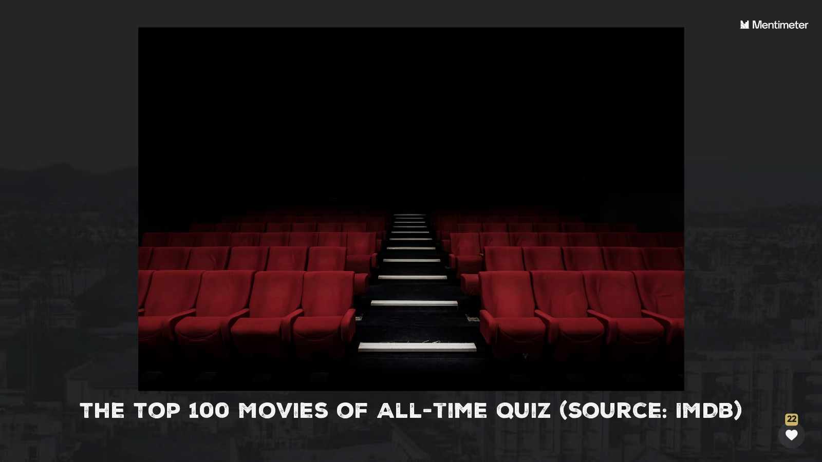 The Top 100 Movies Quiz