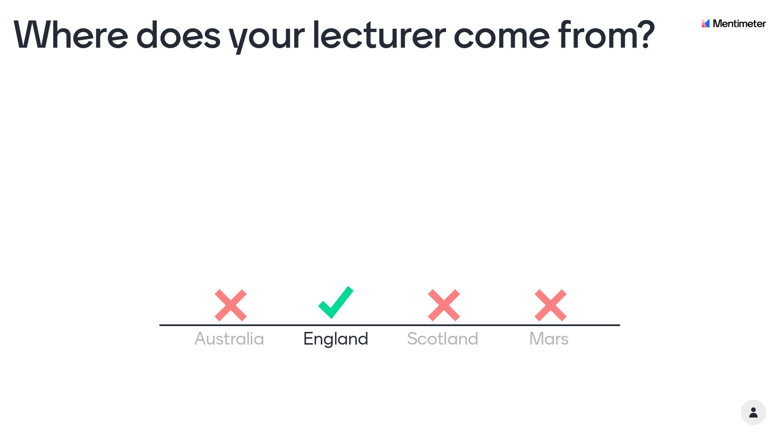 Get to know your lecturer